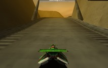 Racing-game-with-a-flying-car