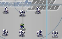 Play-football-robots